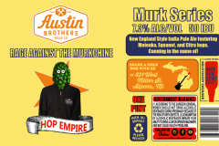 Austin Brothers Beer Co - Rage Against The Murkchine