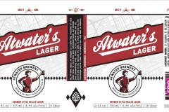 Atwater Brewery - Atwater's Lager