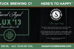 Saugatuck Brewing Co. - Lux #13