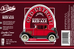 Old Detroit - Rumble Seat Red