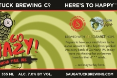 Saugatuck Brewing Co. - Go Hazy! India Pale Ale