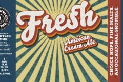 Disgruntled Brewing - Fresh - American Cream Ale