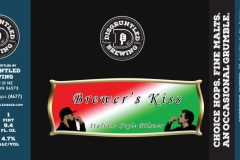 Disgruntled Brewing - Brewer's Kiss Italian Style Pilsner