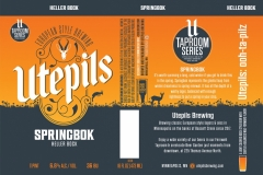 Utepils Brewing - Springbok