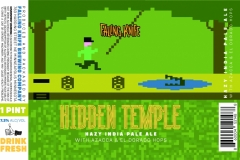 Falling Knife Brewing Company - Hidden Temple