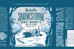 Schell's - Snowstorm Oat Stout