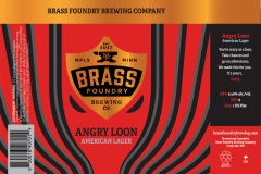 Brass Foundry Brewing Co. - Angry Loon American Lager