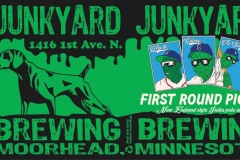 Junkyard Brewing - First Round Picks