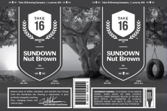Take 16 Brewing Company - Sundown Nut Brown Ale