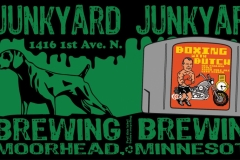 Junkyard Brewing - Boxing With Butch