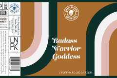 Ursa Minor Brewing - Badass Warrior Goddess