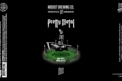 Modist Brewing Co. - Pretty Metal