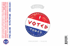 Blackstack Brewing - I Voted Today