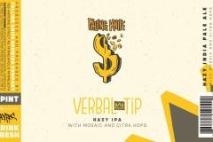 Verbal Tip - Hazy Ipa With Mosaic And Citra Hops