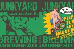 Junkyard Brewing - Flip Flops And Wheelies