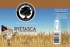Klockow Brewing Co - Ryetasca Roggenbier (rye Amber Ale)