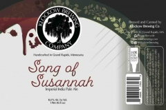 Klockow Brewing Co - Song Of Susannah Imperial India Pale Ale