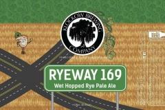 Klockow Brewing Co - Ryeway 169 - Wet Hopped Rye Pale Ale
