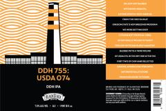Blackstack Brewing - Ddh 755: Usda 074