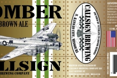 Callsign Brewing Company - Bomber Brown Ale