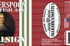 Callsign Brewing Company - Witherspoon Scottish Ale