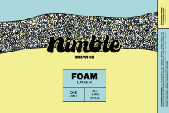 Nimble Brewing - Foam Lager