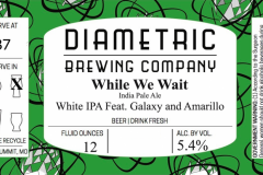Diametric Brewing Company - While We Wait