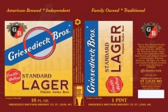Double Mellow - Standard Lager Original Amber Beer