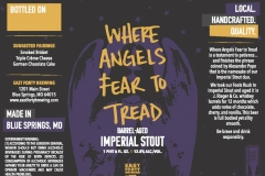 East Forty Brewing - Where Angels Fear To Tread