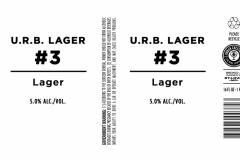 Urban Chestnut Brewing Company - U.r.b. Lager #3