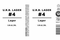 Urban Chestnut Brewing Company - U.r.b. Lager #4
