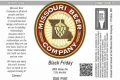 Missouri Beer Company - Black Friday