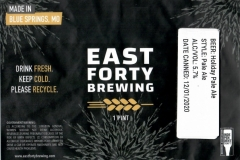 East Forty Brewing - Holiday Pale Ale