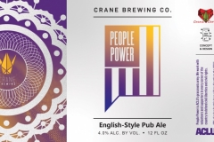 Crane Brewing Co. - People Power