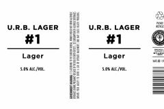 Urban Chestnut Brewing Company - U.R.B Lager #1
