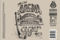 Center Ice Brewery - The Old Arena Lager