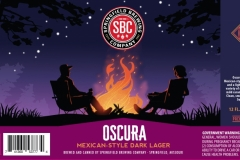 Springfield Brewing Company - Oscura Mexican-style Dark Lager