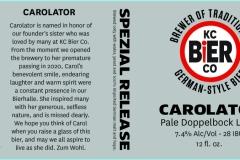 Kc Bier Co - Carolator