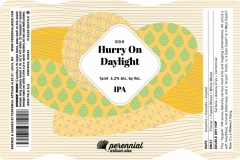 Perennial Artisan Ales - Ddh Hurry On Daylight