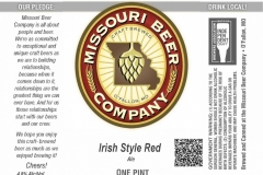 Missouri Beer Company - Irish Style Red