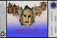 Ebb And Flow - Folk Art Vol. Xii