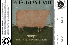 Ebb And Flow - Folk Art Vol. Viii Crumpsy British Style Dark Mild Ale