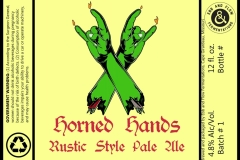 Ebb And Flow Fermentations - Horned Hands Rustic Style Pale Ale
