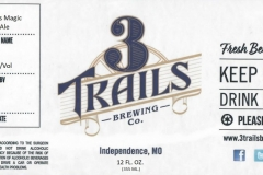 3 Trails Brewing - Merlin's Magic Amber Ale