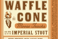Main & Mill Barrelworks - Waffle Cone Moose Tracks