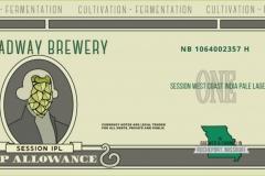 Broadway Brewery - Hop Allowance