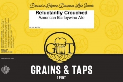 Grains & Taps - Reluctantly Crouched