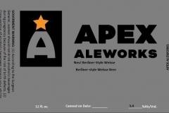 Apex Aleworks - Neu! Berliner-style Weisse Berliner-style Weisse Beer