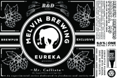 Mr. Callista - Dry Hopped Pilsner-style Lager Beer