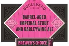 Boulevard - Barrel-aged Imperial Stout And Barleywine Ale
